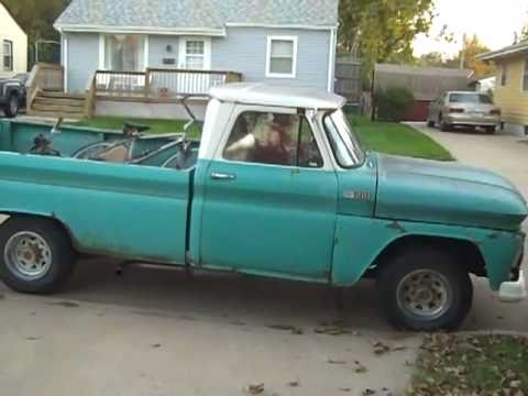 65 Chevy rat rod pickup Video