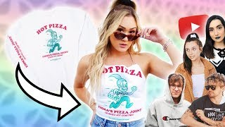 Buying YouTuber Merch & DIYing It #6: Emma Chamberlain, Kian & JC, Safiya Nygaard
