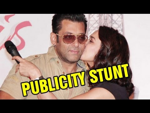 Preity Zinta Kissed Salman Khan - Publicity Stunt? video