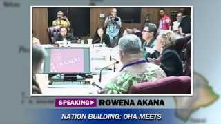 Trustee Rowena Akana Oha Meeting May 29