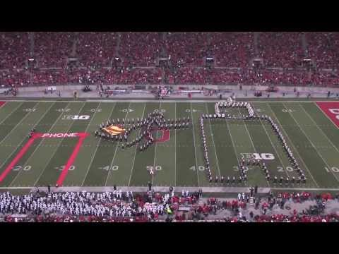 Ohio State Marching Band Hollywood Blockbusters Espectáculo.