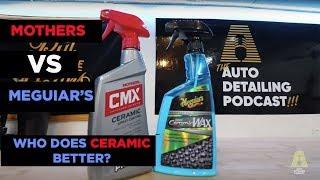 MOTHERS CMX VS MEGUIARS HYBRID CERAMIC WAX - WHICH LEGACY BRAND WINS CERAMICS?