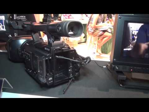 NAB 2012   Sony PMW-100