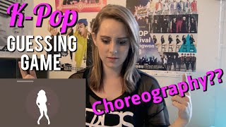 K-Pop Choreography Guessing Game!