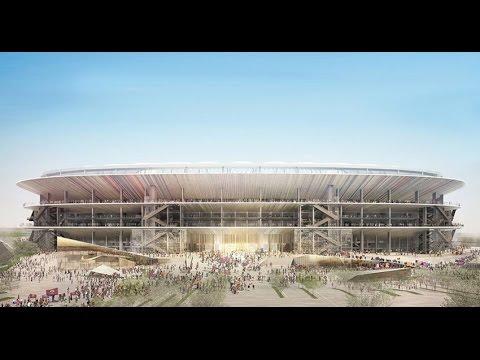 New Camp Nou Football Stadium by Nikken Sekkei and Pascual i Ausió Arquitectes