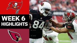 Buccaneers vs. Cardinals | NFL Week 6 Game Highlights