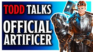 Todd Talks - Official Artificer Release - With Jim Davis (WebDM)