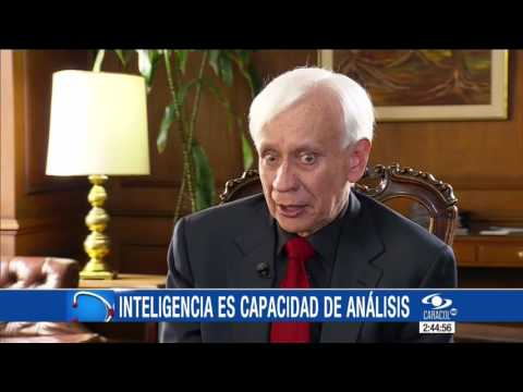 Rodolfo Llinás explica la relación entre las emociones y la inteligencia  14\07\16