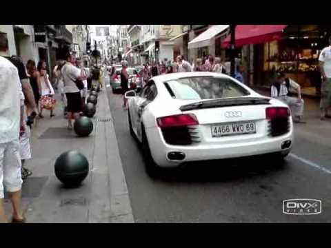 Tubi Audi R8 INSANE Accelerations....