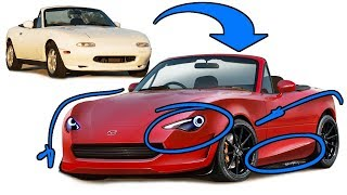 Mazda Miata MX5 NA Makeover - Could This Work Today?