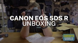 Canon EOS 5Ds R Unboxing