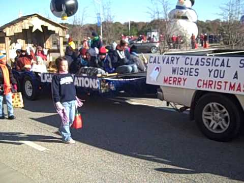 Calvary Classical School Thanksgiving Float