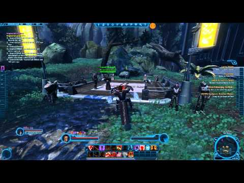 The Old Republic - Sith Marauder w/friends - Dromund Kaas Edition (Part 17)