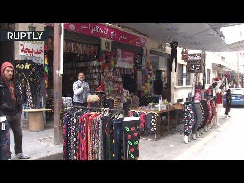 Уличный рынок Алеппо открылся впервые за два года
