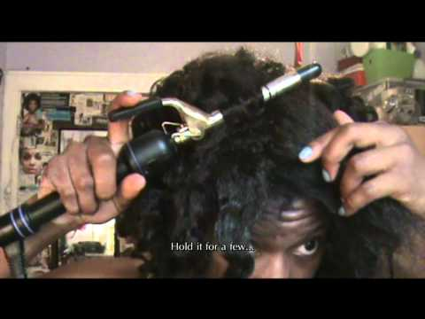 How I Kinky Curl Kanekalon Crochet Braids with HEAT!!!