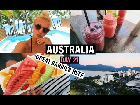 Spa Morning & Hello Cairns! | AUSTRALIA DAY 21