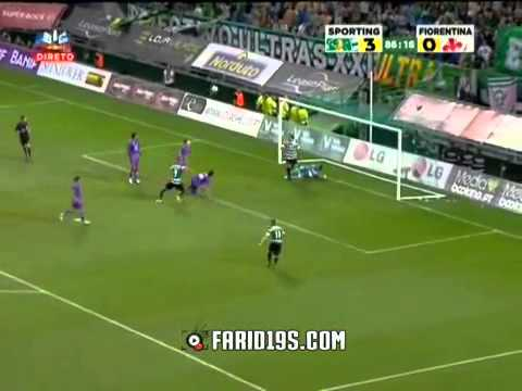 كل مافعله إسلام سليماني ضد فيورنتينا   Islam Slimani vs Fiorentina HD