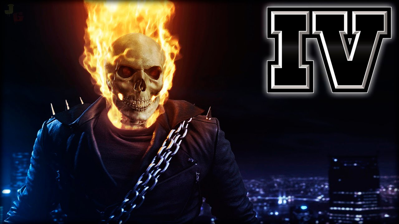 GTA IV TBOGT Ghost Rider Mod After Patch Xbox 360