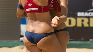 Women's Beach Volleyball Steiner & Baquerizo (ESP) vs NED