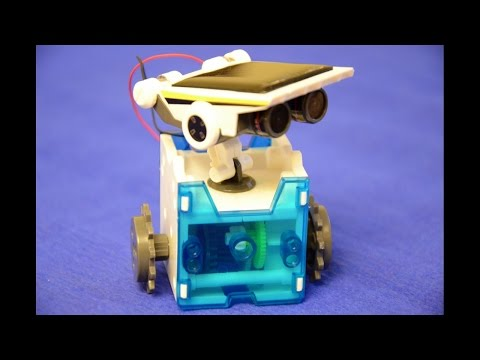 Solar Robot 14 in 1 Educational Assembly of the Body and Head Modul Tutorial