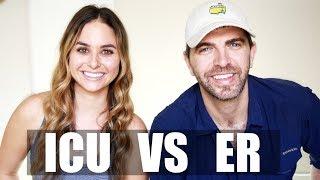 ICU NURSES vs ER NURSES