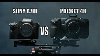 Blackmagic Pocket Cinema Camera 4k vs Sony A7iii
