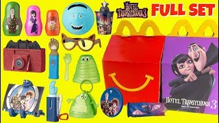 Hotel Transylvania 3 McDonald's Happy Meal Toys with Baby Dennis, Mavis & Johnny