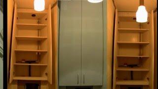 Мотнаж шкафа за 15 минут силами одного мастера (установка шк.