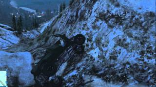 GTA V Mountain Jump 2 - SandKing XL