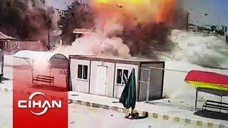 Kobani'deki Patlama Anının Yeni Görüntüleri