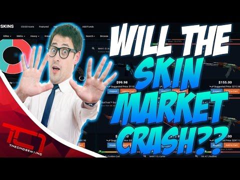 CS GO SKIN MARKET CRASH?!?!?