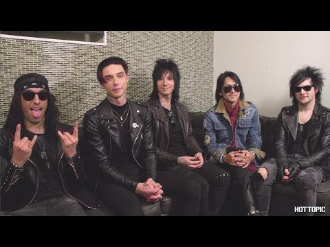 Black Veil Brides: Interview & in-store appearance