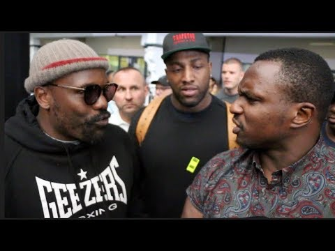 5 MILLION? - DILLIAN WHYTE & DERECK CHISORA HAVE IT OUT -& AGREE DEAL FOR FIGHT! (FEAT. EDDIE HEARN)