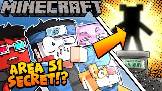 TEDDY BEAR WAS IN AREA 51 ON MINECRAFT!!! - Ep. 30! #Area51storm 👽 PART 2!