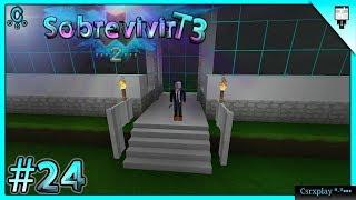 Puerta terminada y Descarga del Mapa / Sobrevivir en Survivalcraft 2 2.1.14 Gameplay - Temp 3 / #24
