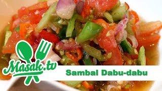 Sambal Dabu-Dabu | Sambal #002