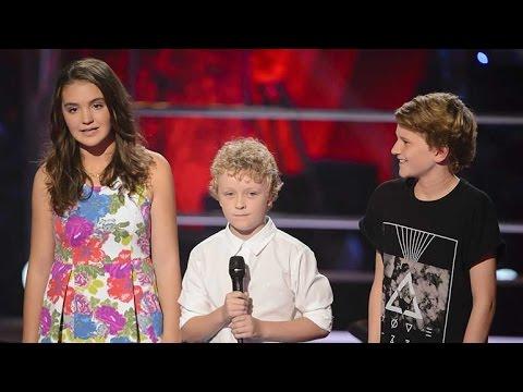 Martha, Reilly and Fletcher Sing Let Her Go | The Voice Kids Australia 2014