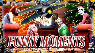 BEST MOMENTS & FUNNY/FAILS MOMENTS en la NUEVA ACTUALIZACION NAVIDEÑA de FORTNITE / GAMEPLAY PC