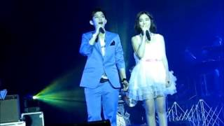 "Aom&Tina ""สบตา"" @Yes or No Story Concert 16Dec12"