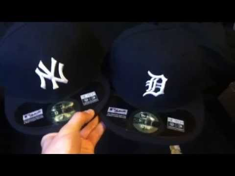 New York Yankees and Detroit Tigers fitted hats review