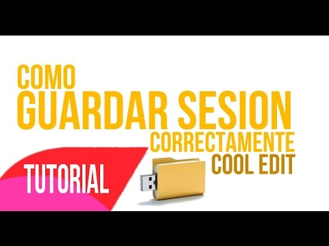 Tutorial Como Guardar Seccion Del Cool Edit Pro y Comprimir by zk producciones