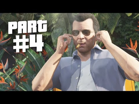 Grand Theft Auto 5 Gameplay Walkthrough Part 4 - Father & Son (gta 5) video