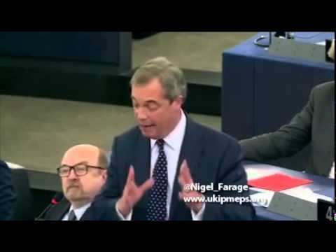 UKIP Nigel Farage  - The UK will leave the European Union Oct 2014