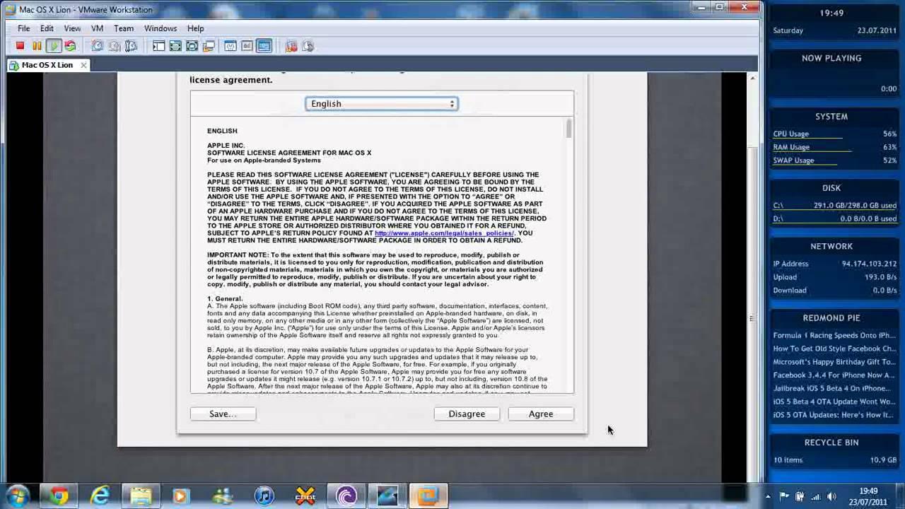 os x 10.8 mountain lion retail vmware image free download
