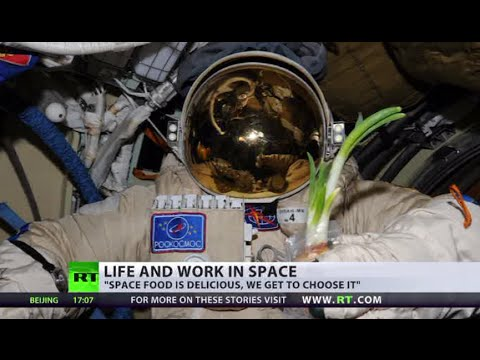 Russian cosmonaut tells RT how to grow onions & use toys in space