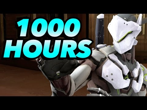 What 1000 Hours of Genji Experience Looks Like - Overwatch