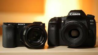 Canon vs Sony Video Autofocus! 80D vs a6500 FIGHT
