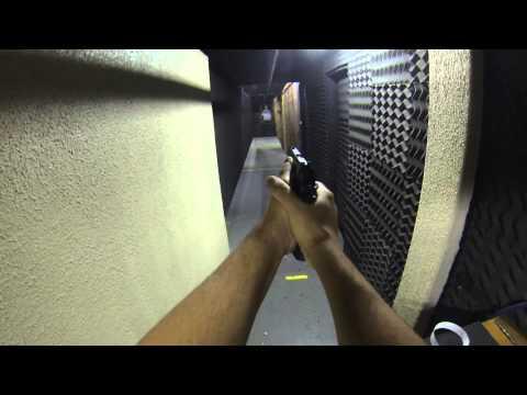 Tiros com Pistola IMBEL TC MD6 .40 S&W