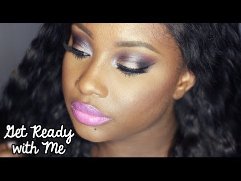 Get Ready with Me   Colored Smokes (Makeup)
