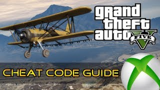 GTA 5 - CHEAT CODE GUIDE - Vehicles, Planes, Weather and More (Xbox Edition)